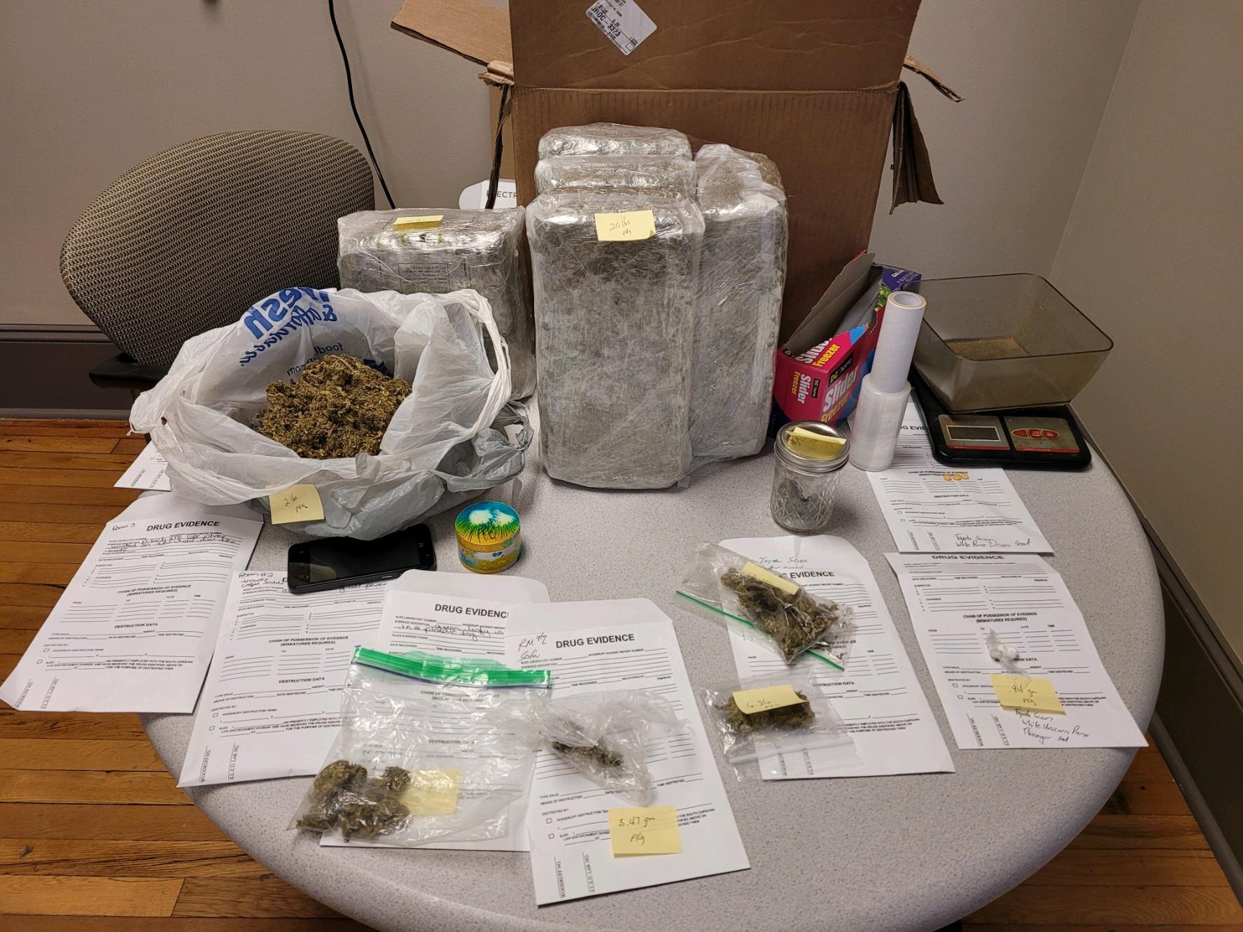Woodruff Police Investigating After Marijuana Seized