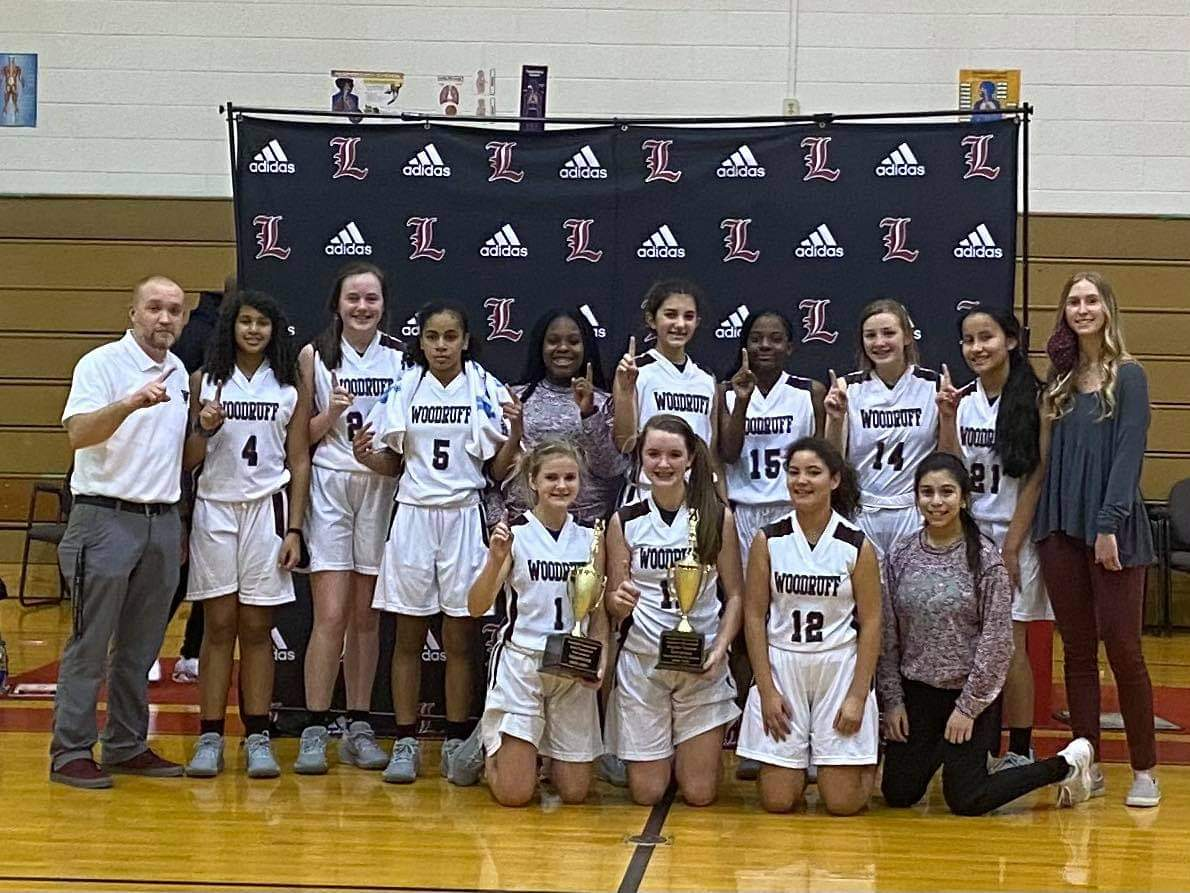 Woodruff Middle School Girls' Basketball Team Wins Championship
