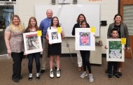 School Board Recognizes Art Winners, Approves Bus Purchase