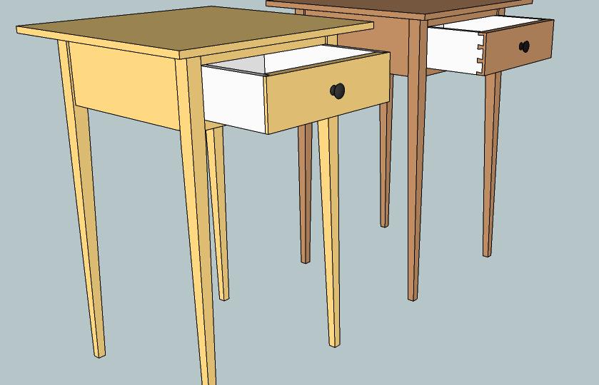 shaker table the wood whisperer guild