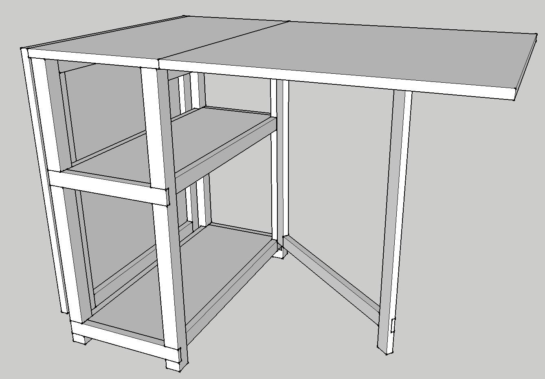 Terrific Folding Craft Table The Woodworker Shop Creativecarmelina Interior Chair Design Creativecarmelinacom