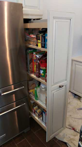 Recessed Refrigerator Woodworx