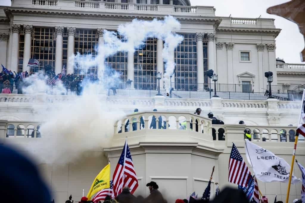 DC Protests: Capitol Building Breached, 1 Woman Dead In Riots