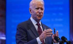 Biden Says The Administration Sents Millions Of Masks To Households