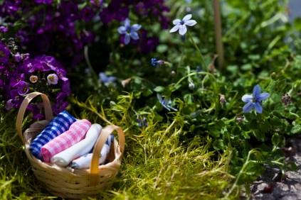 miniature washing basket