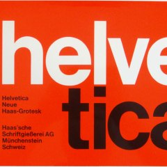 Happy Birthday, Helvetica!