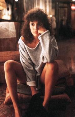 Jennifer Beals stars as Alex Owens in the 1983 dance movie 'Flashdance'.