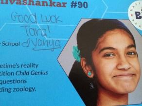 One of my favorite spellers is Vanya Shivashankar.