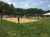 Spellers engaged in sports like volleyball and softball.