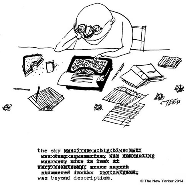 Writing Cartoon