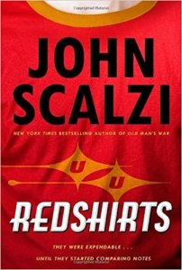 "Cover of ""Redshirts"" b John Scalzi"