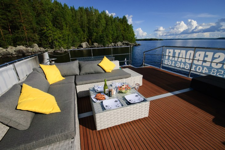 Finland Houseboat Adventure