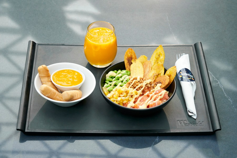 Sabroso - Ceviche with Tequeños 1