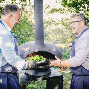 Lainston House Launches New Woodfire Cooking Classes