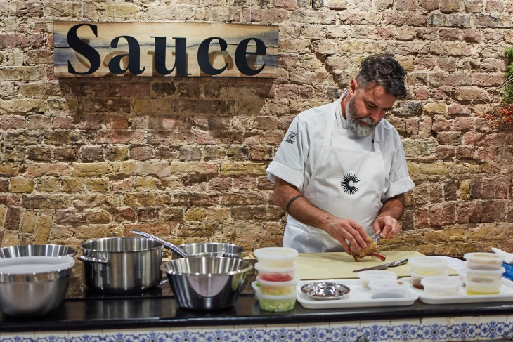 Nuno Mendes Masterclass. Please credit, Great British Chefs (2)