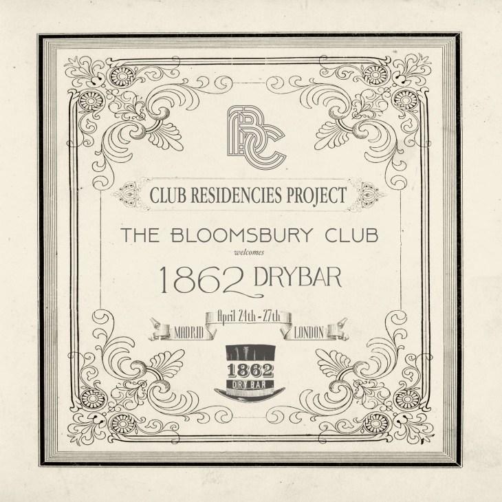 BCB - 1862 Dry Bar -Club Residencies Project