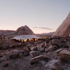 Amangiri, USA - Camp Sarika, Tented Pavilion exterior