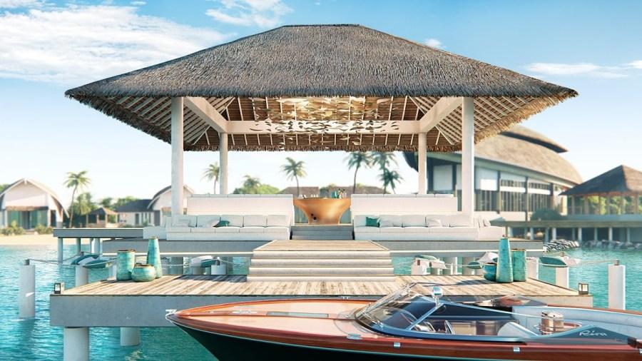 JW Marriott Maldives - Arrival Jetty Render
