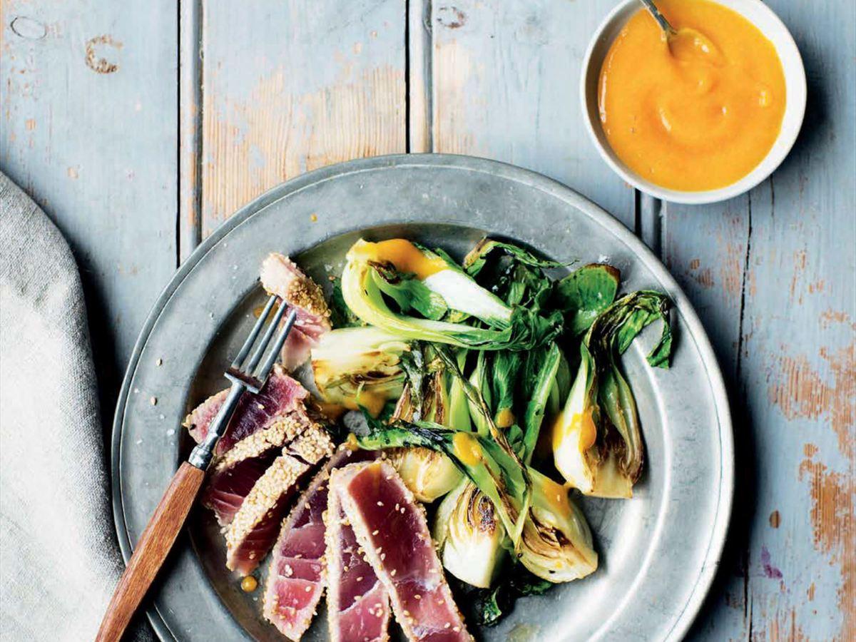 Dale Pinnock's Sesame-Crusted Tuna with Lime