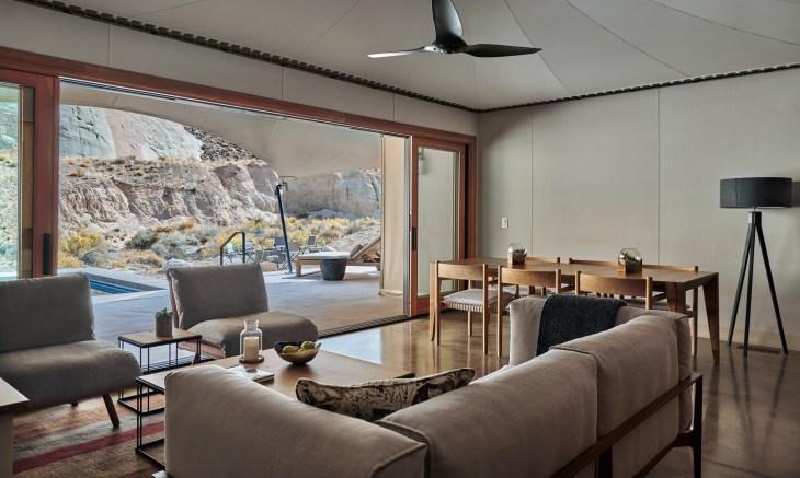Amangiri, USA - Camp Sarika Tent 3 Lounge