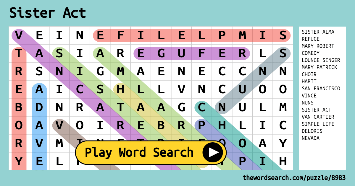 Search Word Puzzles Safety Printable