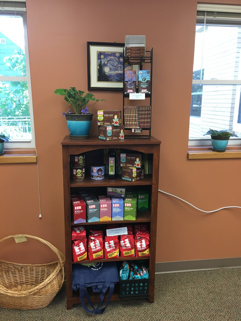 Fair Trade Products Available in the Parish Office