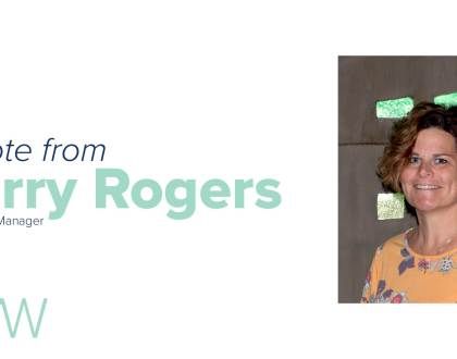 A Note from Kerry Rogers