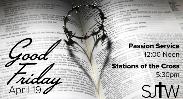 Good Friday Service Times