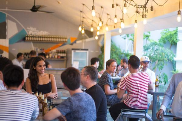 Beer Garden - The Working Capitol on Keong Saik