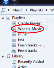 Burning Music CDs Using Windows Media Player (Version 11