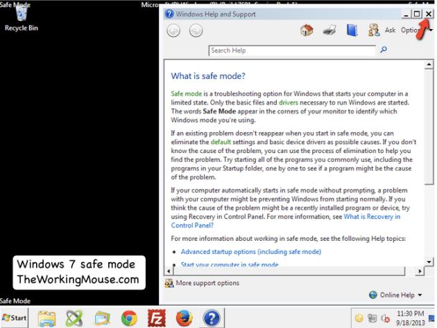 safe mode help opens windows 7, help opens safemode, windows 7 boot to safe mode, safe mode boot windows 7