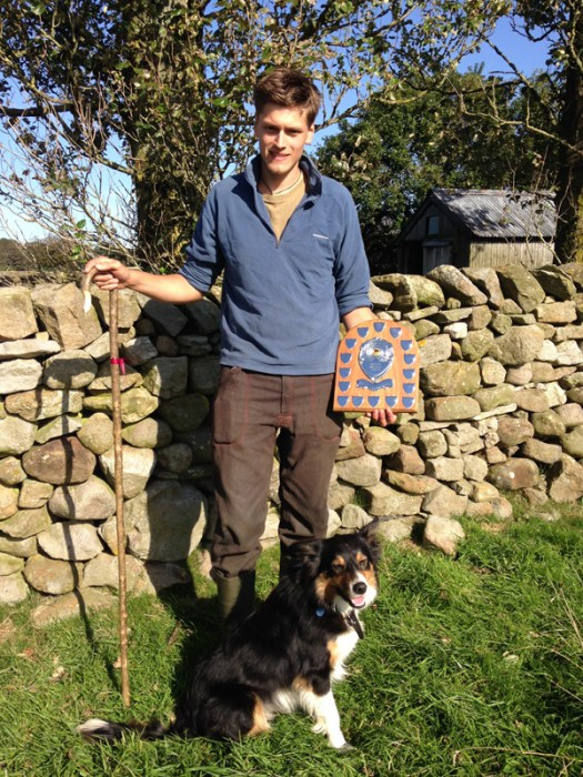 Successful young dog and handler