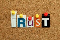 Senior management doesn't trust