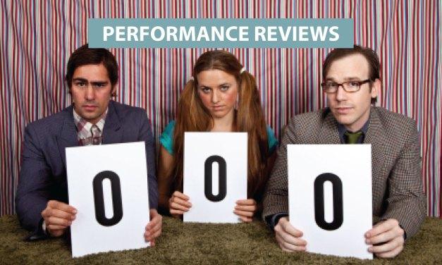 """Performance Reviews"""