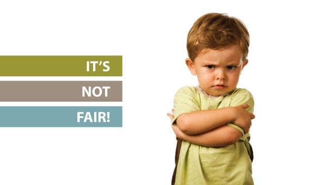 """""""It's not fair"""""""