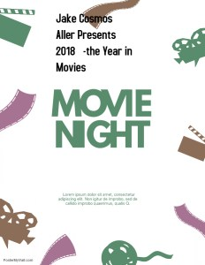 movie night poster