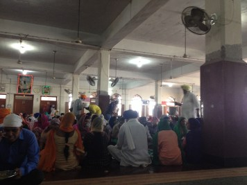Eating at The Golden Temple