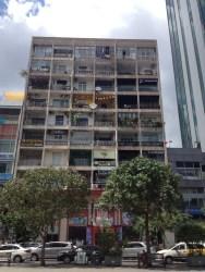 Tower block full of cafes