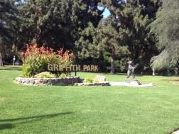Griffith Park entrance