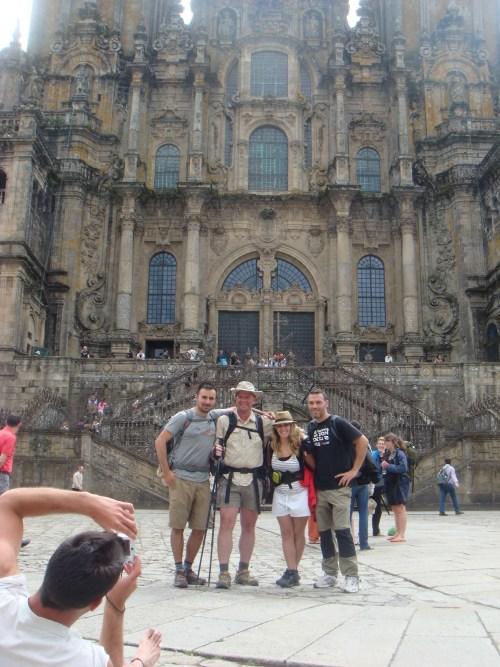 Santiago de Compostela pilmgrim