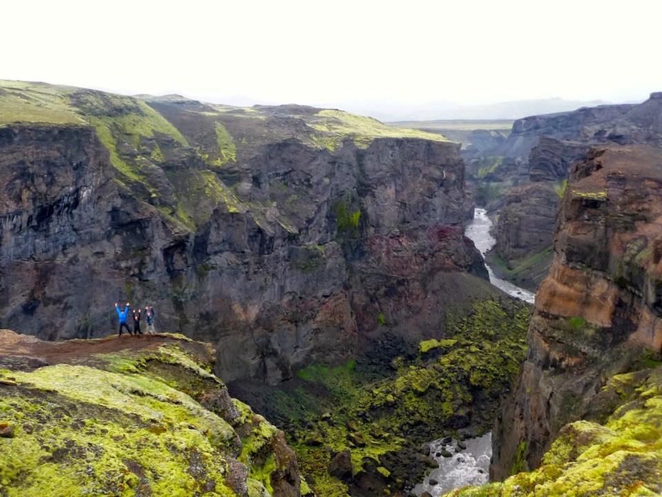 Iceland canyon - Laugavegur Trail