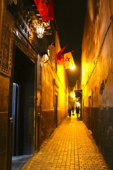 Souks at night
