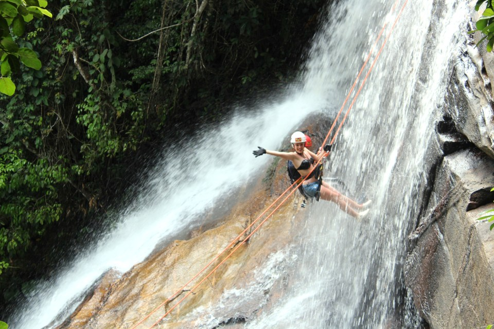 abseiling 2
