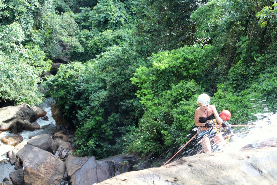 abseiling 1