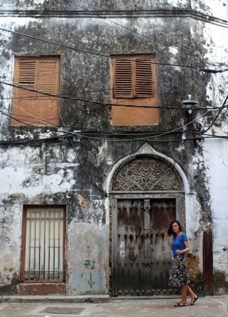 Zanzibar - Stone Town - Indian Door 2