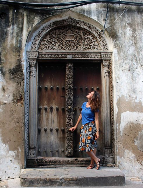 Zanzibar - Stone Town - Indian Door 4