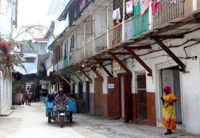Zanzibar Stone Town street