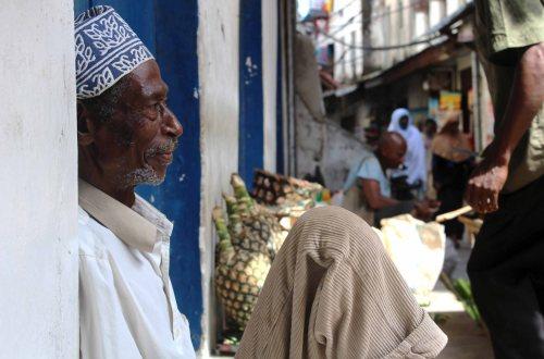 Old Man Stone Town, Zanzibar, Tanzania, África
