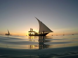 Sunset boat party Zanzibar