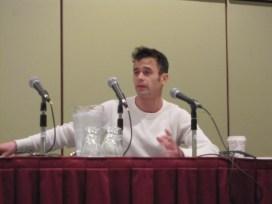 Daniel Logan during his Q&A panel at Comic Con Toronto 2013